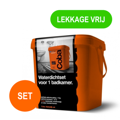 Coba ASP 920 Kimband en Kimpasta voor één Badkamer | WORKSHOP ...