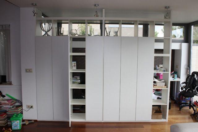 closed expedit wall basement room partition ikea ikea hackers ikea. Black Bedroom Furniture Sets. Home Design Ideas
