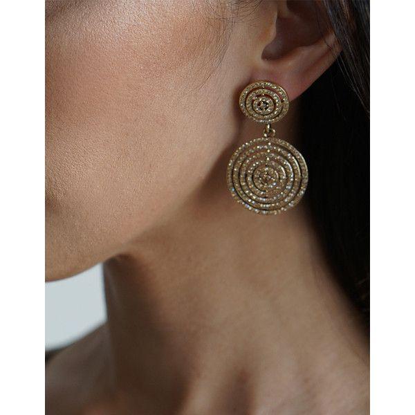 Izoa rouge earrings gold (€91) ❤ liked on Polyvore featuring jewelry, earrings, nickel free earrings, handcrafted earrings, butterfly jewelry, 18 karat gold earrings and 18k yellow gold earrings