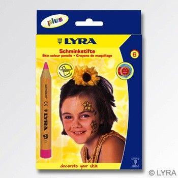 Lyra Face Painting Pencils