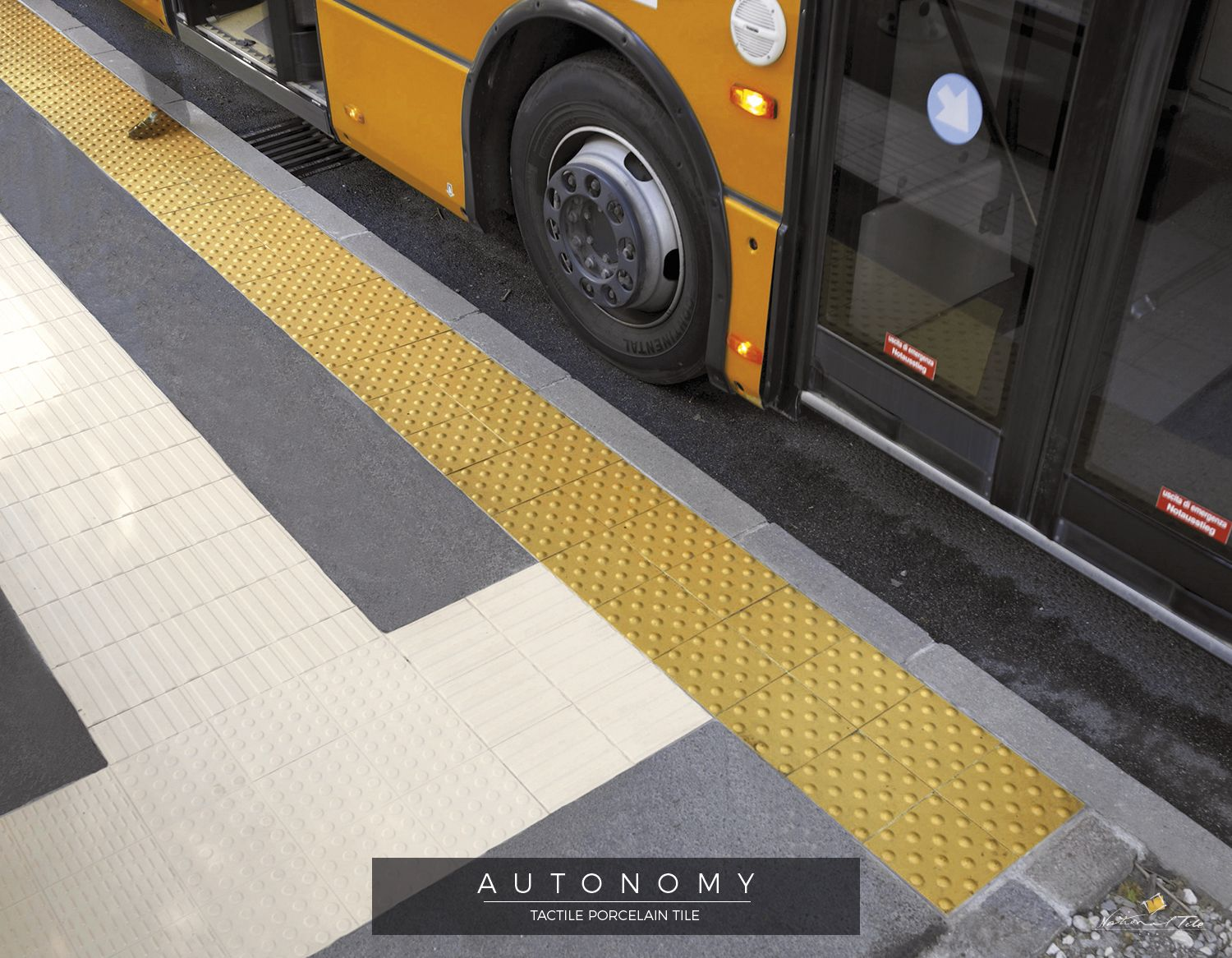 Tactile Paving Detectable Warning Surface Is A System