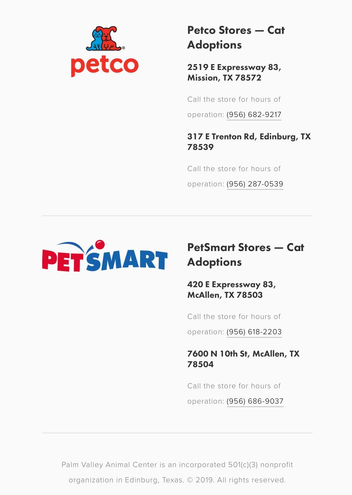 Cat Adoptions Also Done Through Petco And Petsmart Cat Adoption