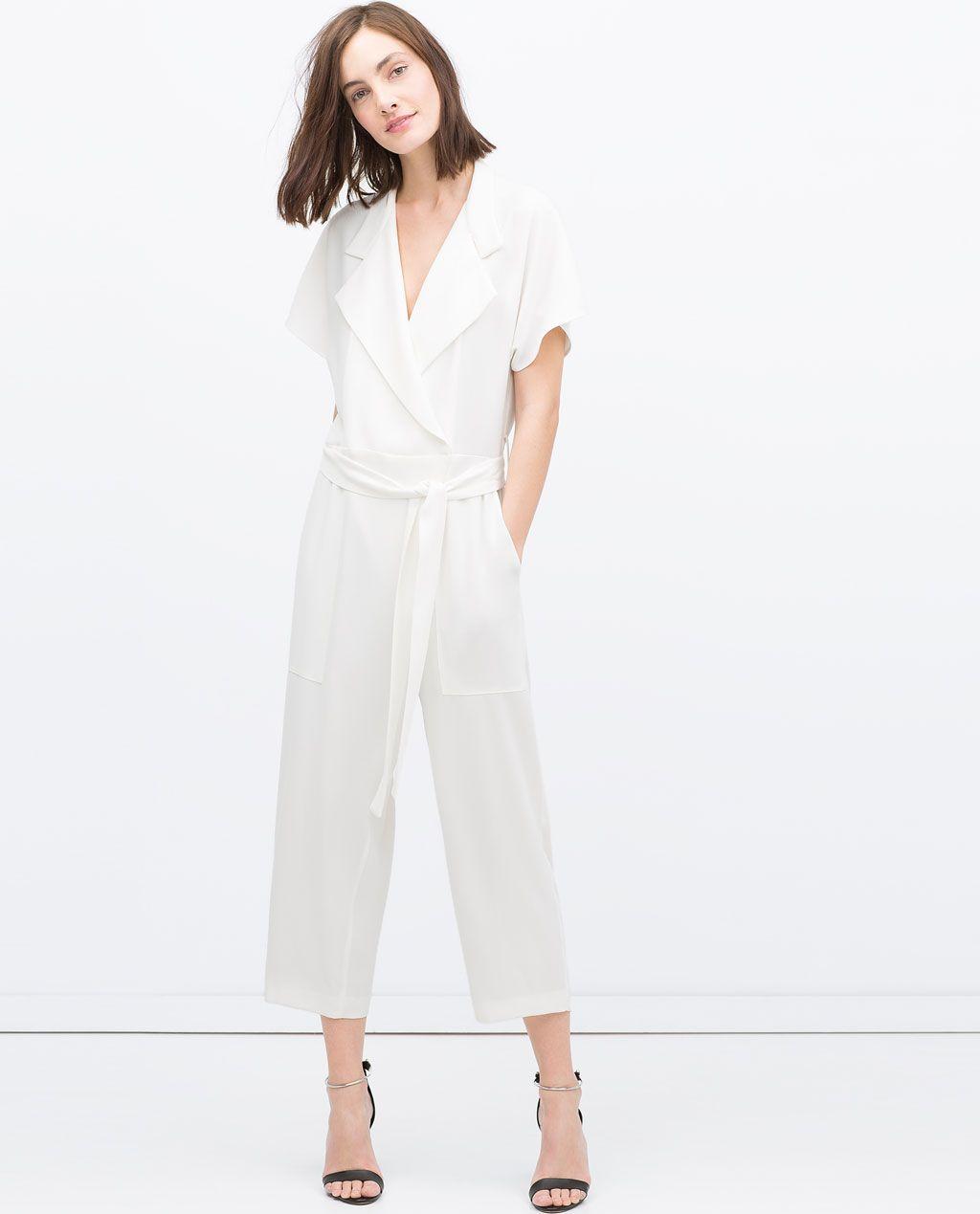 0a0aea530d ZARA - RAMADAN COLLECTION - LONG CROSSOVER JUMPSUIT | Fashion ...