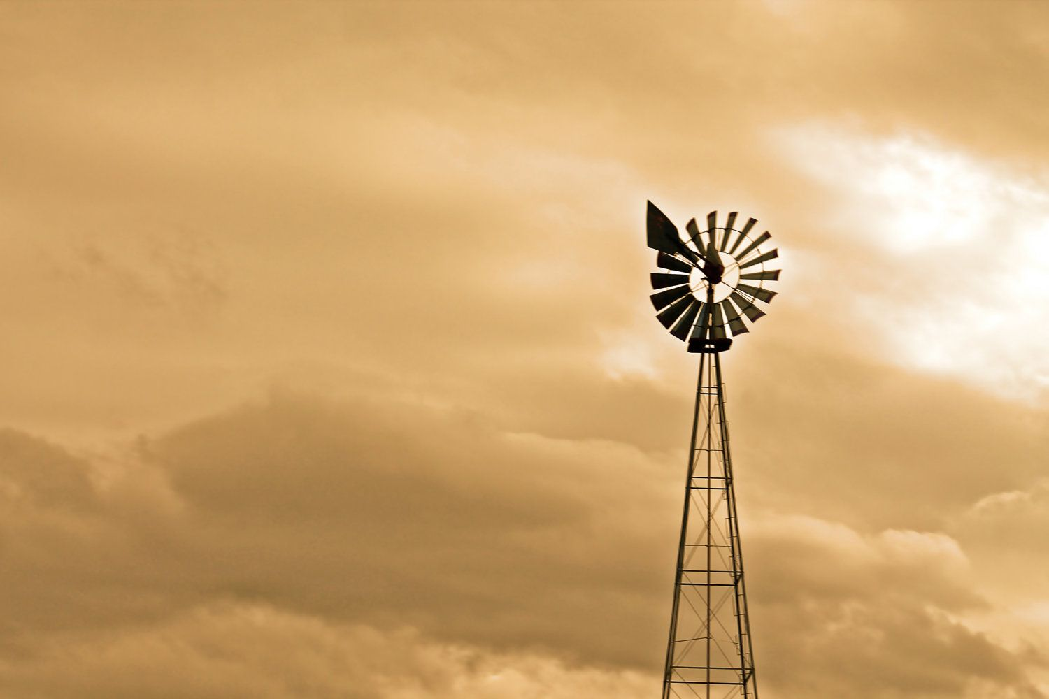 Country Windmill in Orange - 8x10 - Photograph. $12.95 by PickaPic via Etsy.