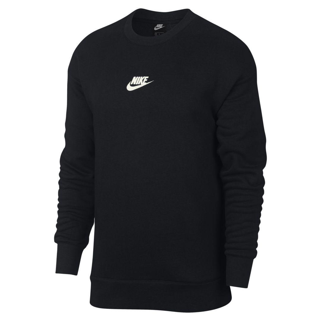 Nike Sportswear Heritage Men's Fleece Crew Size XL (Black