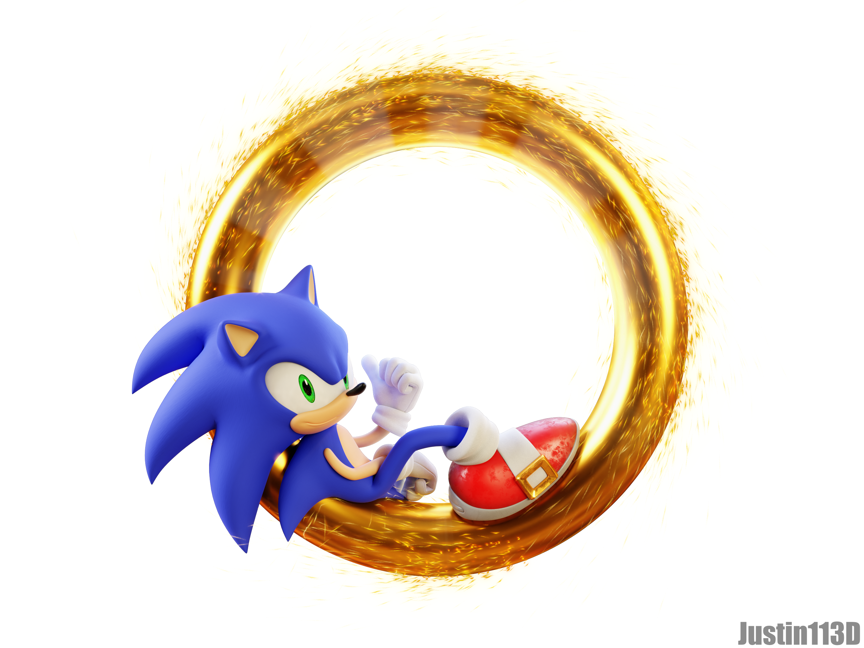 Sonic Movie Render Ring Portal TR by Justin113D on