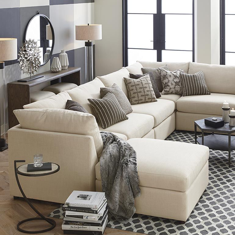 U Shaped Sectional Chaise