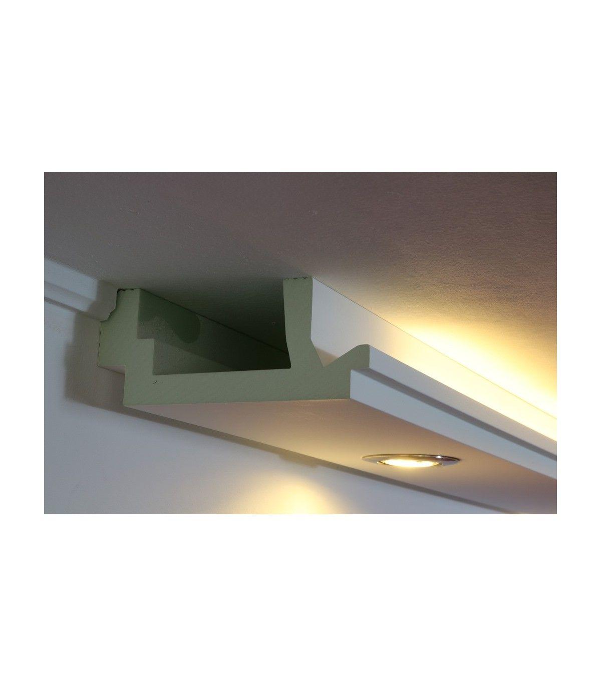 Led Stuckleisten Fur Indirekte Beleuchtung Wand Und Decke Wdml 200c Pr Mit Bildern Beleuchtung Deckenbeleuchtung Indirekte Beleuchtung