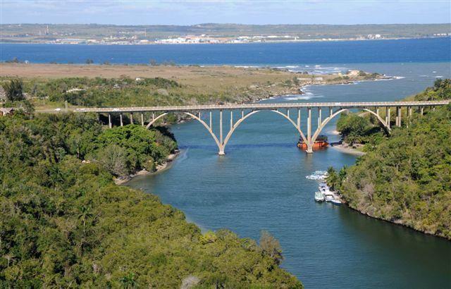 Puente de Bacunayagua en Matanzas, es el más alto de Cuba