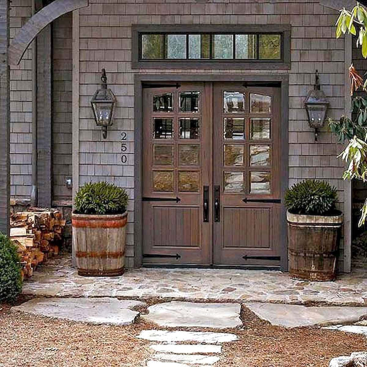 70s Home Exterior Remodel: 70 Favourite Modern Farmhouse Front Door Entrance Design