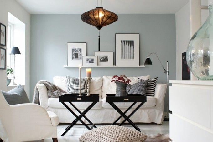 Kända Inredning, tavellist ovanför soffa i tv-rum? | Inredning | Idéer PO-53