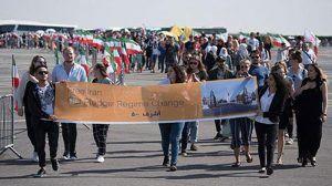 100,000 gather in Free Iran rally in Paris