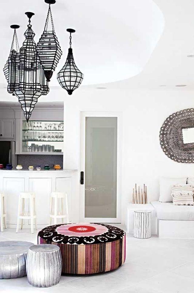living room poufs%0A Interiors