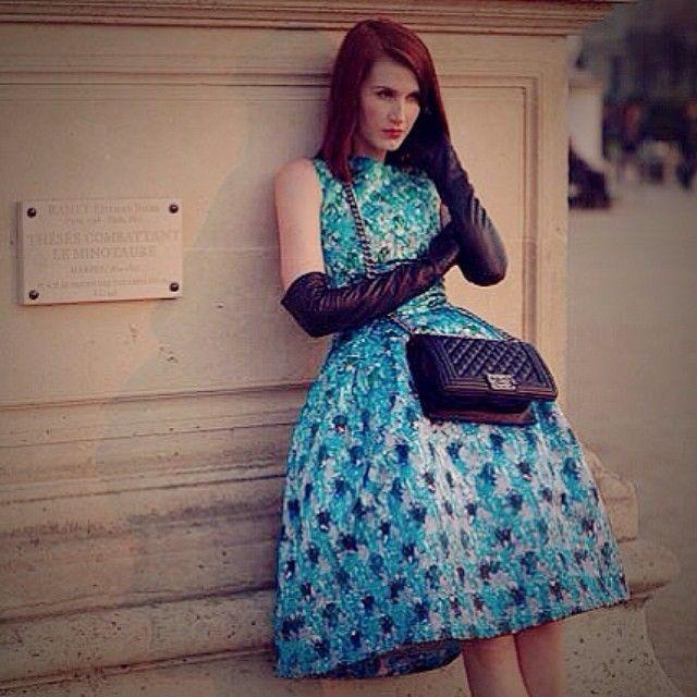 Dress with Full Skirt :: www.liketk.it/idO