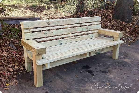 Building Benches The Gift Of Good Centsational Style Diy Bench Outdoor Garden Bench Diy Wood Bench Outdoor