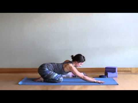 locust pose yoga class beginner backbends with mackenzie