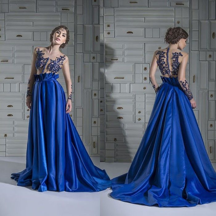 long sleeve prom dresses | elegant evening dresses with long