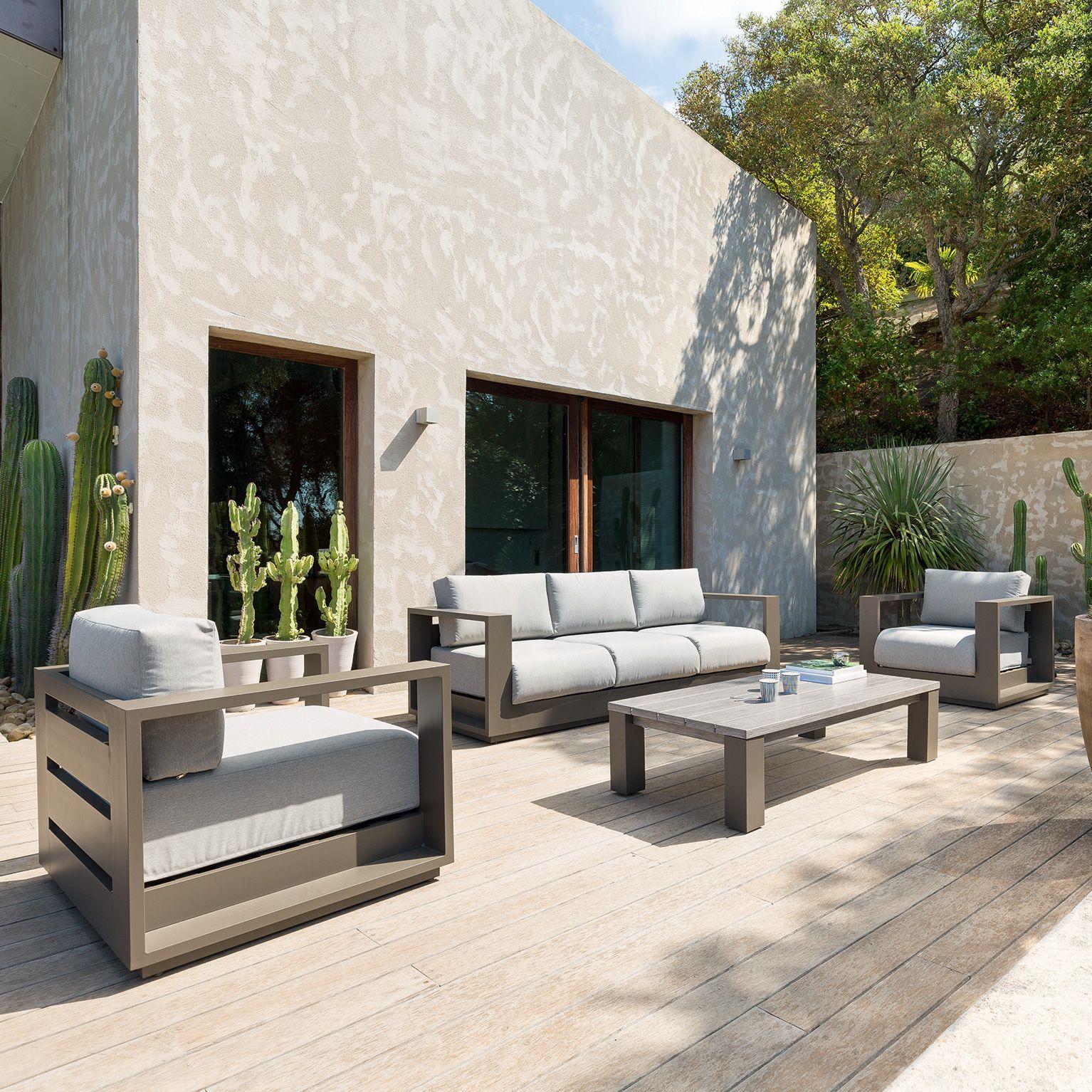 Salon de jardin Heraklion Taupe - 5 places en 2019 ...