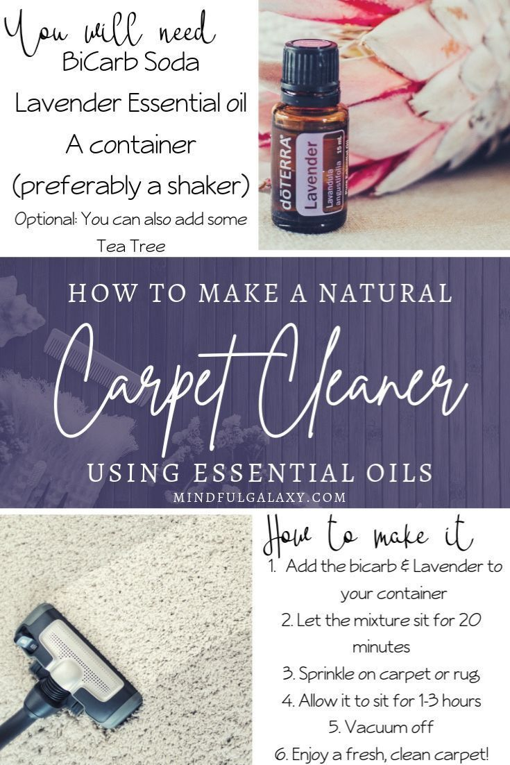 Diy carpet cleaner shows you how to clean with baking soda