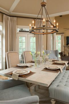 Alpharetta Ga Residence  Traditional  Dining Room  Atlanta Awesome Dining Room Light Fixtures Traditional Design Ideas
