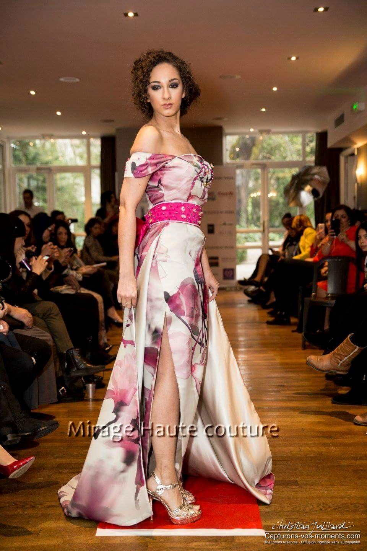 algeria pink badroune by mirage haute couture lyon 2016. Black Bedroom Furniture Sets. Home Design Ideas