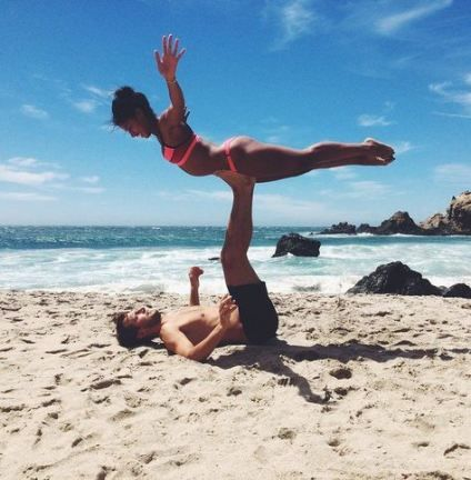 Fitness Couples Pictures Relationship Goals Partner Yoga 48+ Trendy Ideas #fitness