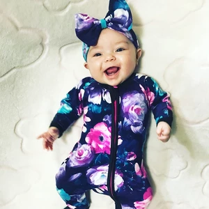 Photo of Wondersuit Baby Girl Clothes Newborn Rompers Bebe Jumpsuits Knit Floral Vintage Toddler Costume Onesie Infant Daddys 2018