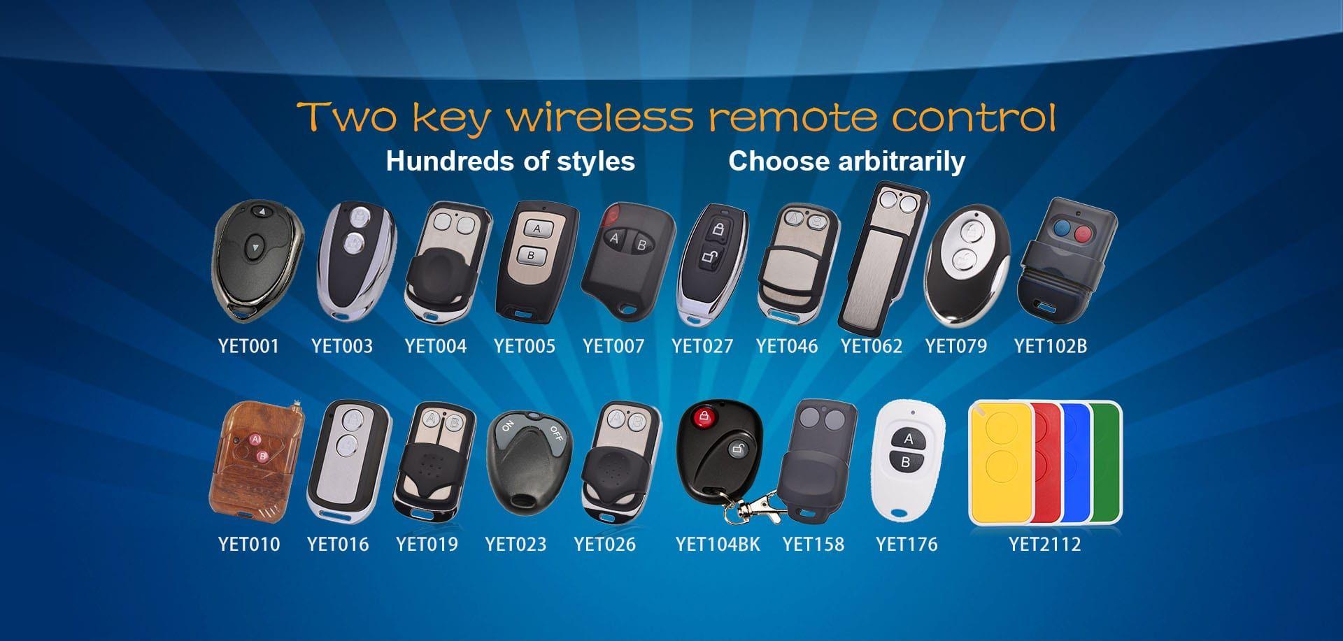 Universal Wireless Remote Control Remote Control Garage Remote