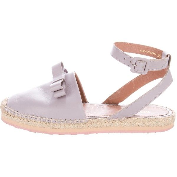 Pre-owned - Leather flats Red Valentino Cheap Shop Professional Cheap Online Original 2018 New For Sale VULn2JtcHD