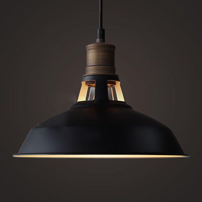 Industrial Metal Ceiling Pendant Lighting Vintage Hanging Lamp