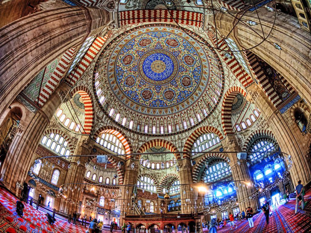 セリミエ・モスク - イスラーム建築の最高到達の1 by Tetra_Angel ...