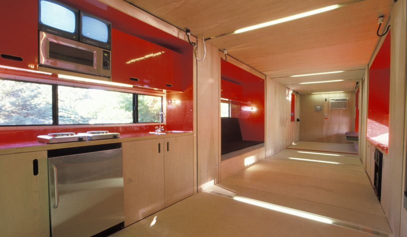 MDU (Mobile Dwelling Unit)   LOT EK Architecture U0026 Design   Building With Shipping  Containers