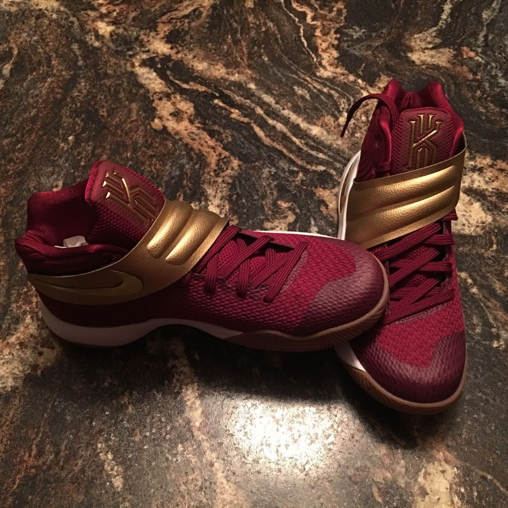 38f058192003 kyrie 2 maroon and gold