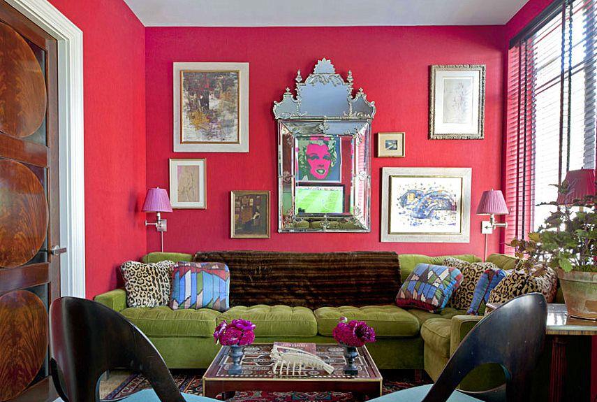 Red And Green Rooms  Green Velvet Sofa Green Velvet And Velvet Couch Custom Red Living Room Designs Decorating Design