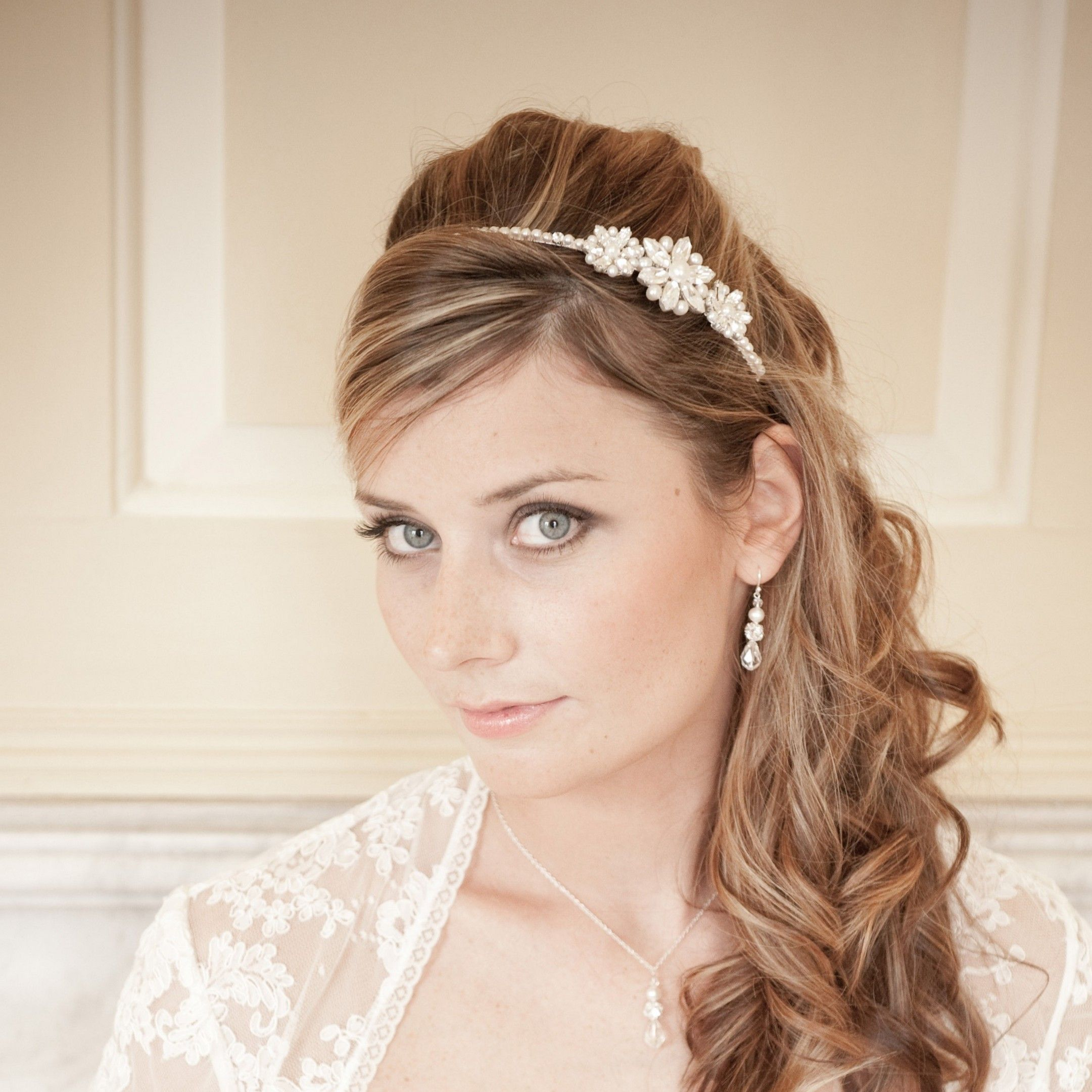 Wedding Hairstyle With Headband: Wedding Hairstyles With Headbands Updo Wedding Hairstyles