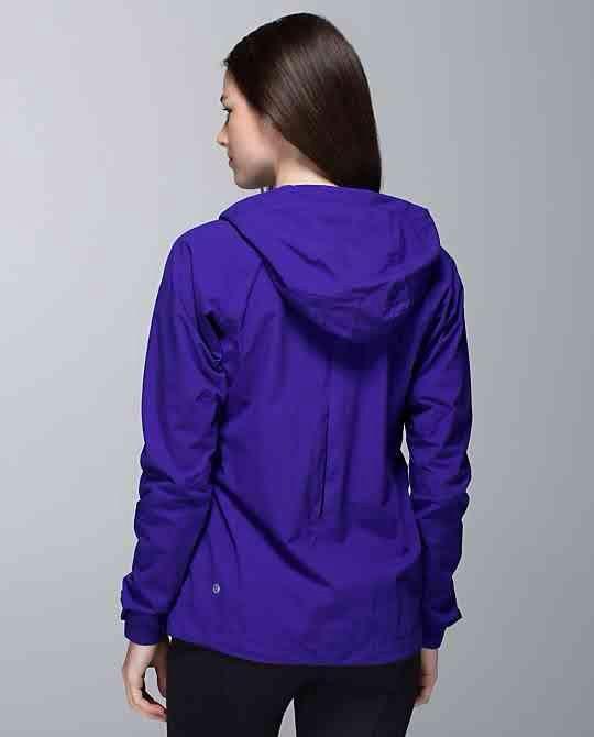 Lululemon Rise & Shine Jacket Pigment Blue Size 8 $219