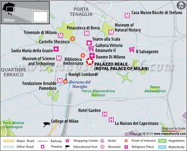 Palazzo Reale Milano (Royal Palace of Milan) - Map, Facts, Location ...