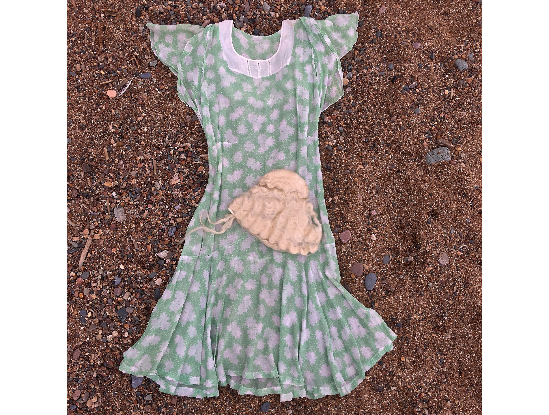 Vintage Mint Green Women's Dress