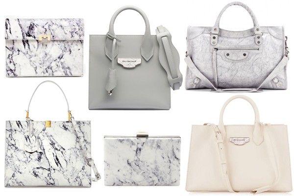 Balenciaga Marble Bags