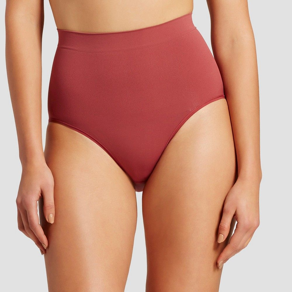 7ac25ba9e2 Assets by Spanx Women s All Around Smoother Brief - Cinnamon Rouge L ...