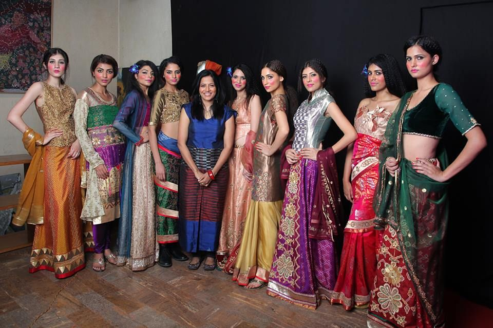 After a Fantastic bridal show with the models in the Delhi store.  #Designerwear #PartyWear #WomensWear #Dresses #Fashion #Fashionista #Women #Luxury #CocktailWear #EveningWear #BridalLehenga #WeddingLehenga #DeepikaGovind