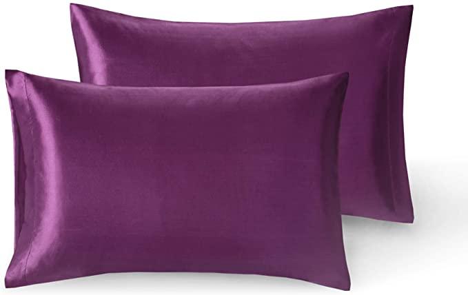 amazon com silky satin pillow cases