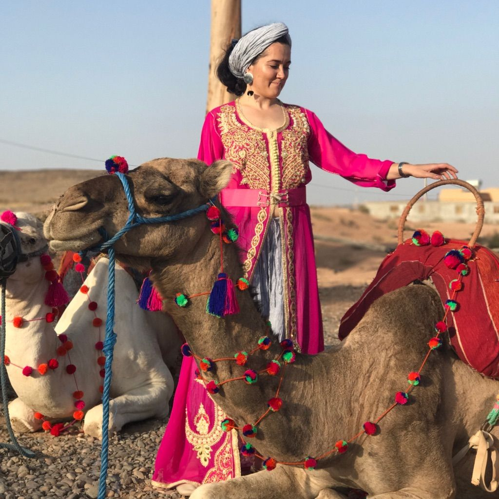 Traditional Moroccan Kaftan Dress, Marrakech