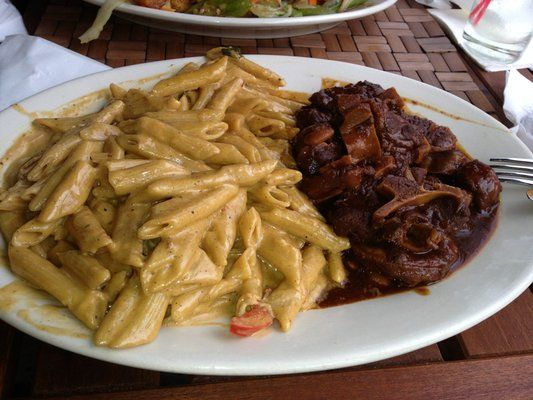 Rasta Pasta And Oxtail Yelp My Daughter Discovered This An Fell