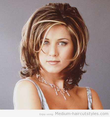 Medium Length Hairstyles For Women Over 50 layered haircut for shoulder length hair linda gray_bjpg Medium Length Hairstyles For Thick Hair For Women Over 50 2