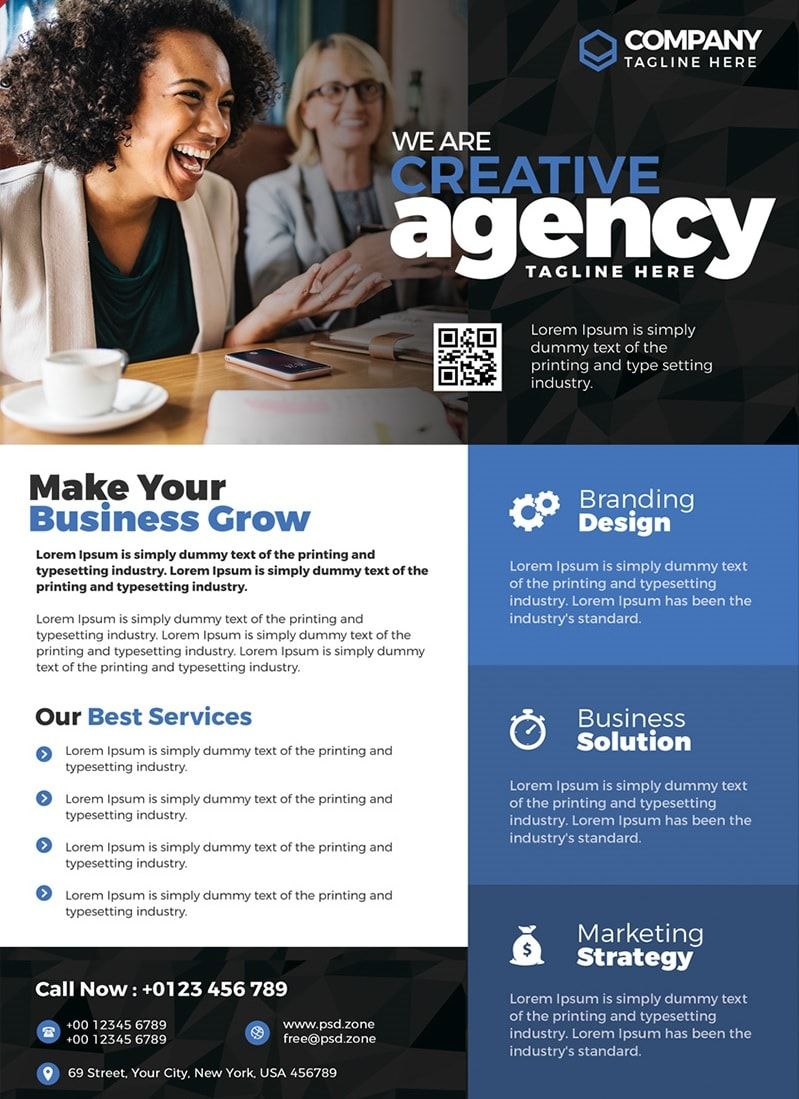 Business Ad Templates Free