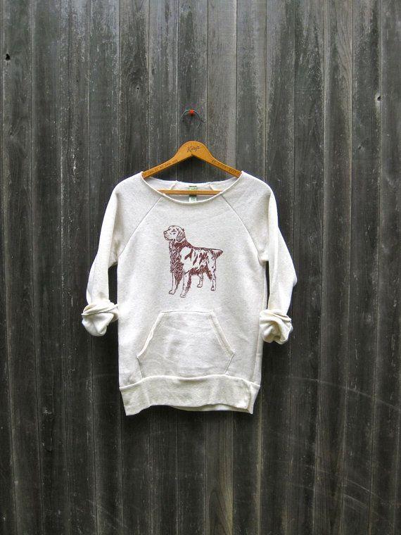 6b15ff5f177e0 bestest friend ever Golden Retriever Sweatshirt