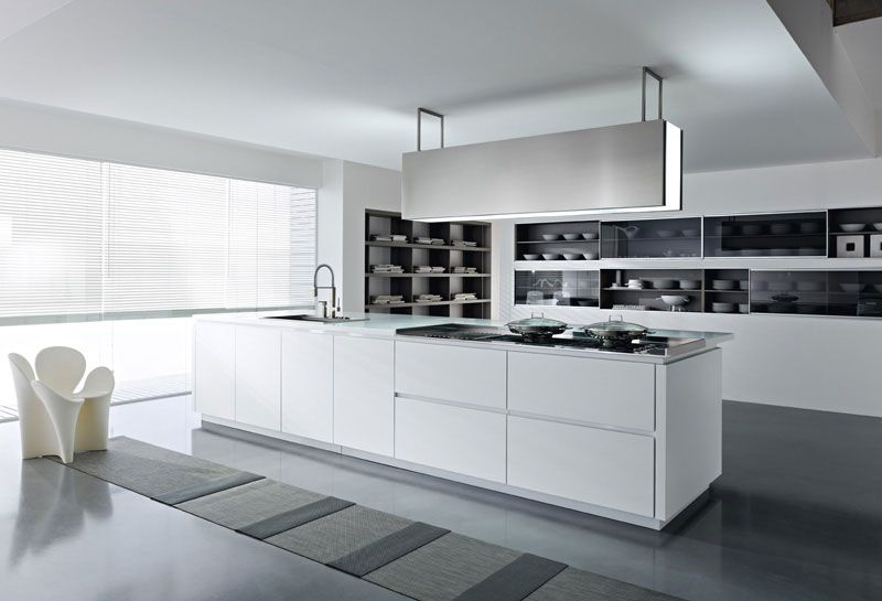11 beautiful modern white kitchens