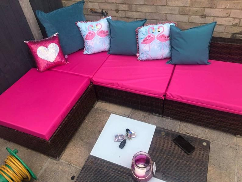 Pin On Palette Sofa, Waterproof Garden Seat Cushion Covers