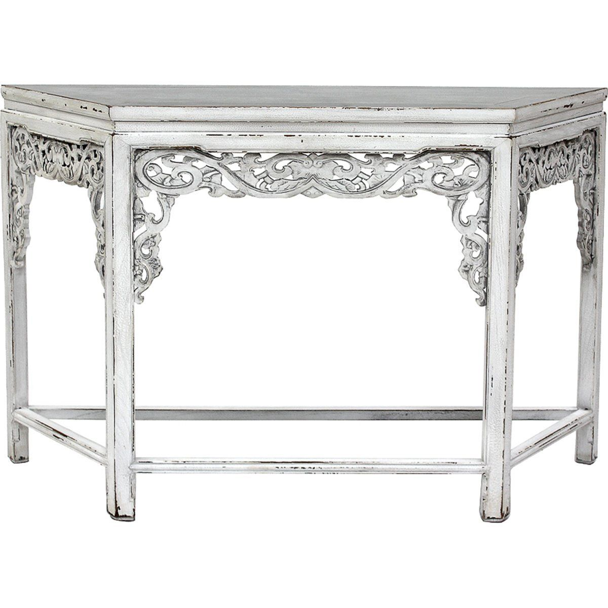 Sarreid Carved Console Table
